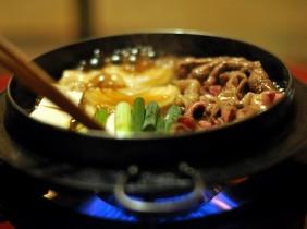 Japanskt Hot Pot: Sukiyaki