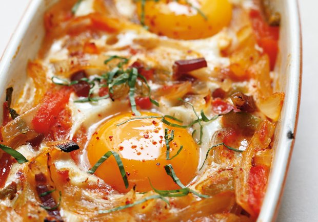 recept med ägg