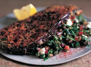 Detta schnitzel recept av auberginer bevisar att de kan användas i nästan all typ av mat.