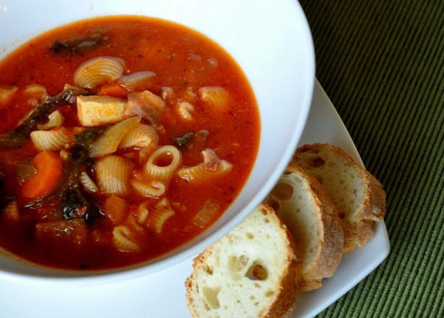 vegetariska soppor recept