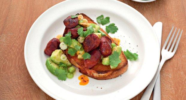 Denna smakrika toast är det perfekta botemedlet för morgonen efter ...