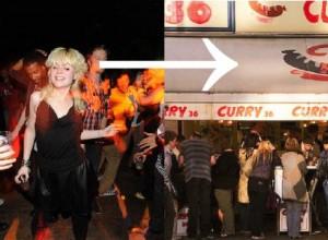 I Berlin kan turkiska köfte och currywurst avsluta en lång natt på klubben.