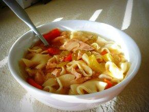 kyckling och nudlar soppa recept