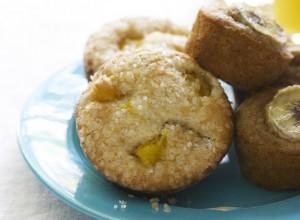 Gör dessa mango muffins till helgen.