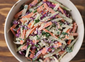 Broccoli Slaw Med Tahini Dressing