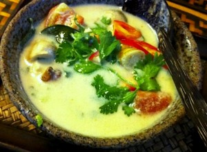 Foto: grahamhills på Flickr Gör din egen thailändska kyckling soppa med kokosmjölk hemma.