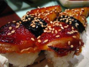 Foto: Rick på Flickr Unagi är en av de bäst tillagade rätterna på en sushi-meny.